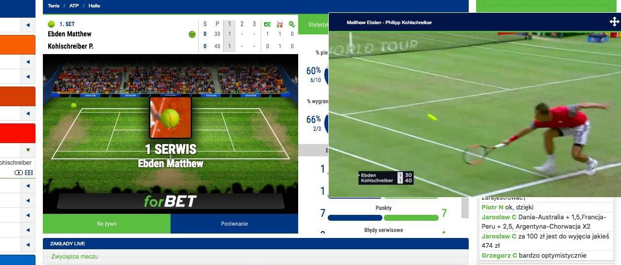 Darmowe transmisje meczów online