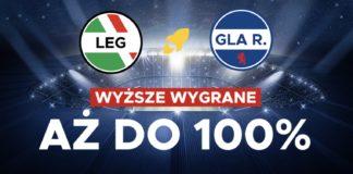 Legia - Rangers z bonusem do 100 PLN!