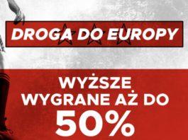 Betclic daje 50% więcej na mecze Polski w eliminacjach Euro 2020!