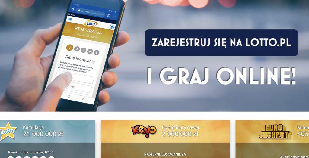 Gry Lotto w internecie