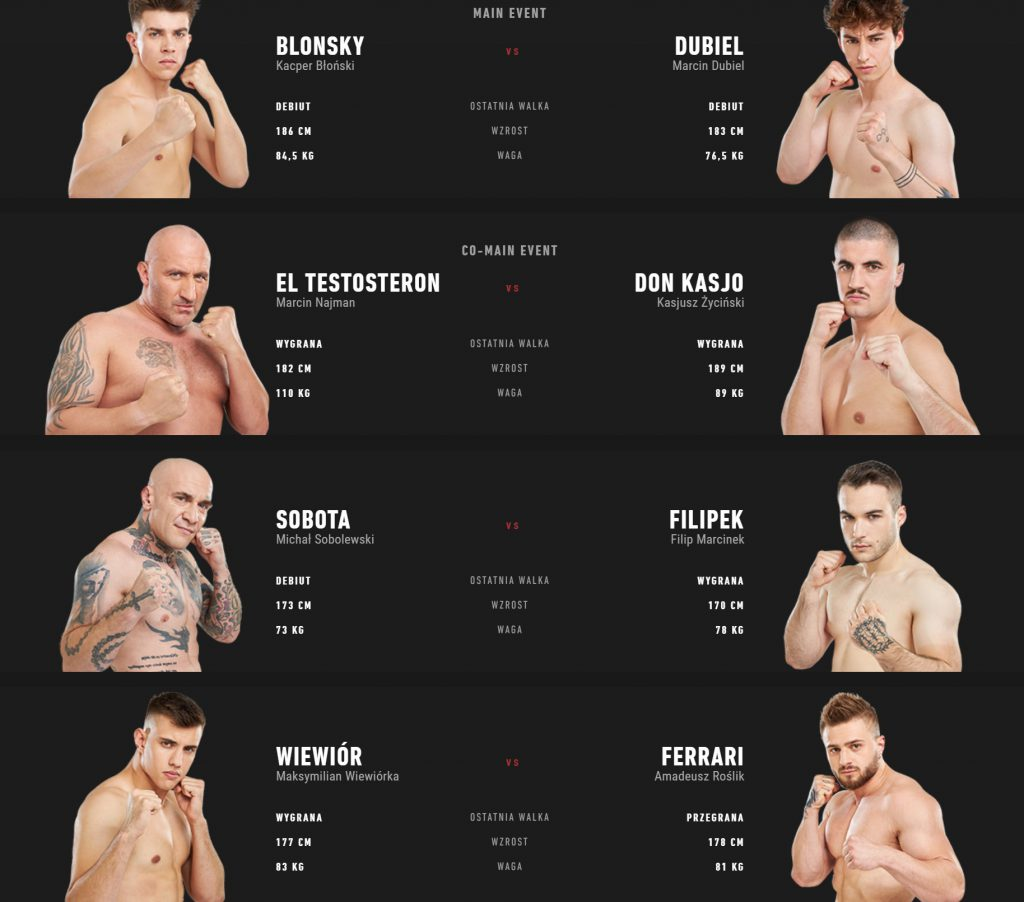 Fame MMA 8 walki