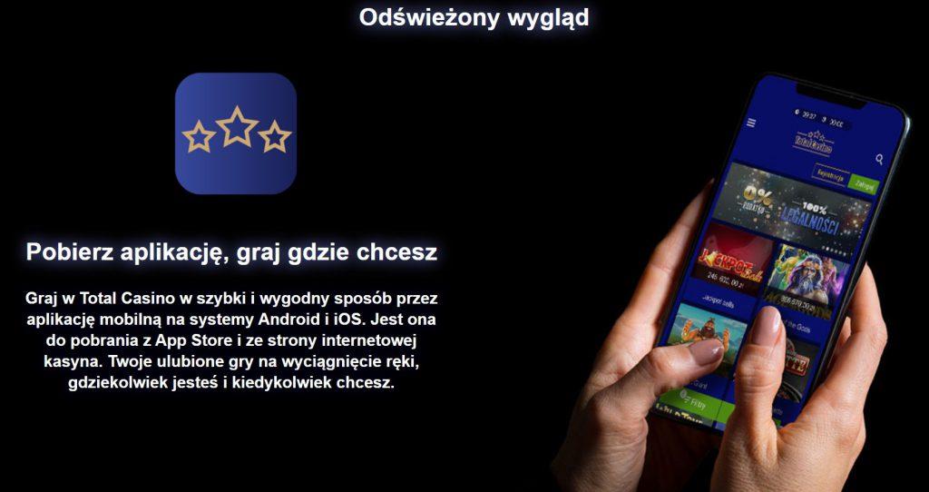 Total Casino darmowa aplikacja mobilna