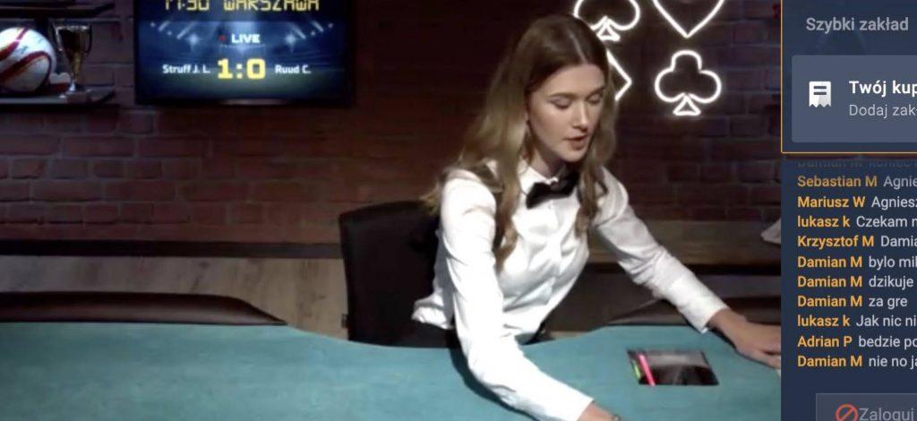 Poker online w STS online