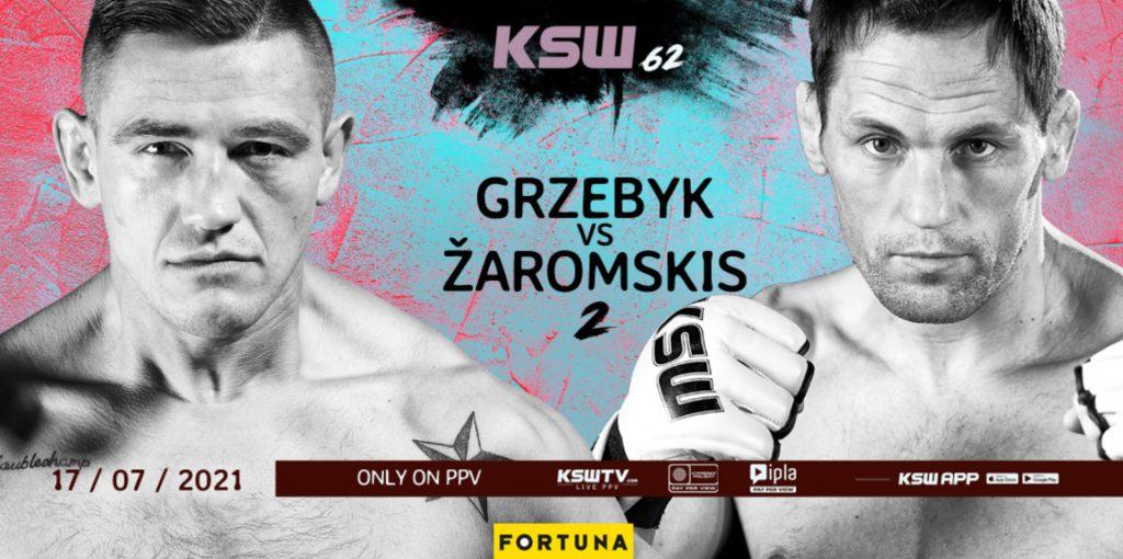 Grzebyk - Zaromskis (KSW 62). Typy, kursy, zapowiedź